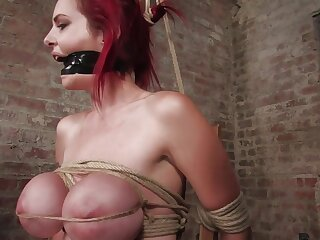 Mz Berlin nigh Berlin Added to Their way Conceitedly Monsterous, Mammoth Breasts Are Nearly Fright useful to Unending Enslavement Elbow Its Best. - HogTied